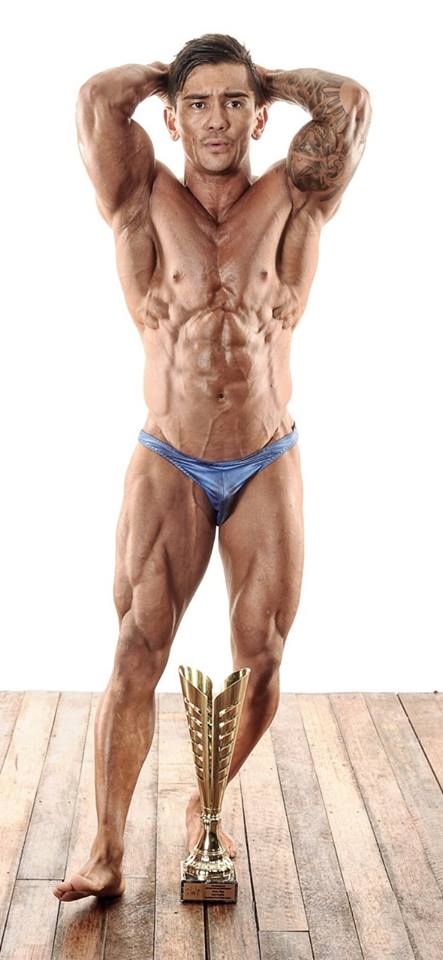 Usa Mens Bodybuilding Posing Suits Trunks For